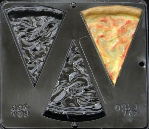 Plain Pizza Chocolate Candy Mold  1200 NEW