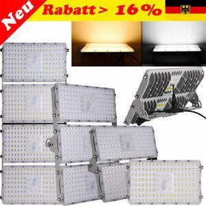 LED-Fluter-100W-200W-300W-Flutlicht-Aussen-Strahler-Scheinwerfer-Lamp-Wasserdicht