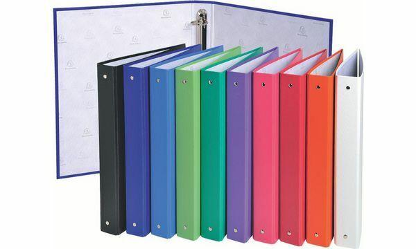 20xEXACOMPTA Ringbuch, 4-Ring-Mechanik, DIN A4, farbig sortiert | Bevorzugtes Material  | Erste Gruppe von Kunden  | Attraktiv Und Langlebig