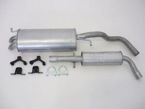 Abgasanlage Komplett Ab Katfür VW RENAULT Auspuffanlage Abgasanlage,