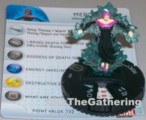 MERCY #035 Deadpool Marvel HeroClix Rare