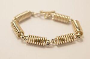 Taxco-Mexican-925-Sterling-Silver-Bracelet-42-grams-17-cm-6-7-034