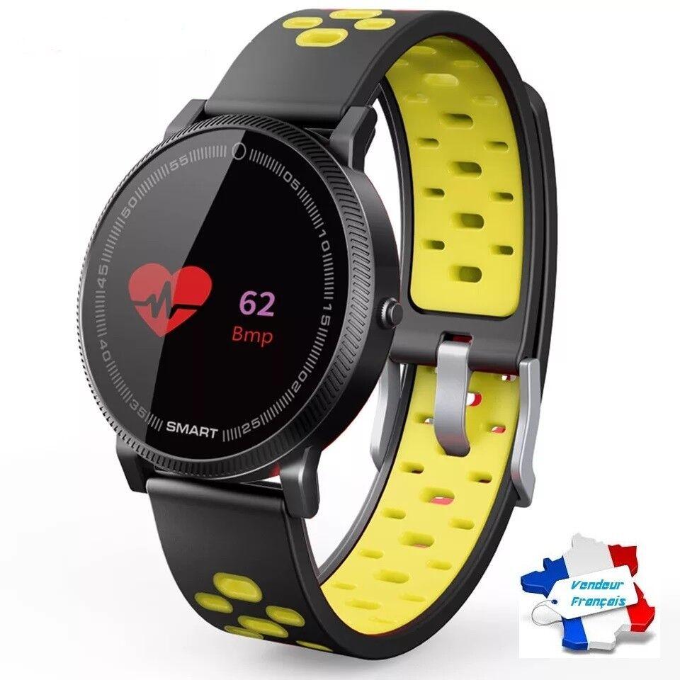 ECRAN color Montre Connectée Smartwatch Bracelet blueetooth Android Apple Smart