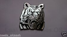 Tiger 3D ALUMINIUM Animal Wild Car Badge Emblem Sticker Bike SUV Sedan Laptop