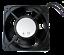 thumbnail 2 - Server Rack Data Network Cabinet Cooling Fans set of 2 Black