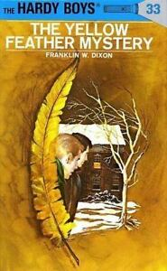 The-Yellow-Feather-Mystery-Hardy-Boys-Book-33-Franklin-Dixon-Hardcover