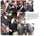 1-1-Schwarz-Autositzbezug-Kunstleder-Schonbezug-mit-roter-Naht-Vordersitzbezuege Indexbild 5