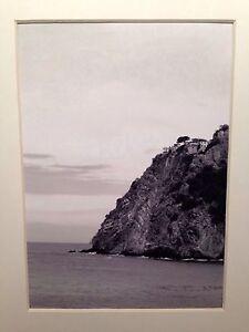 Italian-Coast-Cinque-Terre-Italy-12-5x17-5cm-Black-amp-White