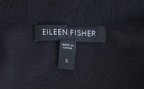 Fisher Størrelse Silke Sort Jakke Bomuld Eileen S Blazer Tqw4AgR