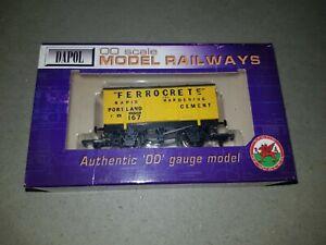 OO gauge Dapol B311 Ferrocrete Cement Portland 167 Wagon boxed Unused