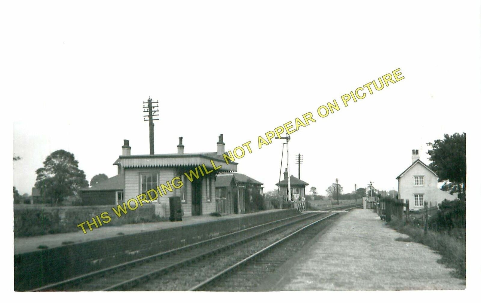 Brighton Line Barnham 2 Drayton Railway Station Photo Chichester LB/&SCR.