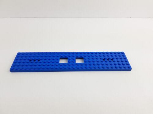 Lego® Eisenbahnplatte  6x28 für Lok Zug Waggon Eisenbahn Platte blau Zabawki konstrukcyjne LEGO