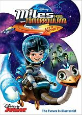 Miles from Tomorrow - Let's Rocket!-  DVD - REGION 1 - SEALED