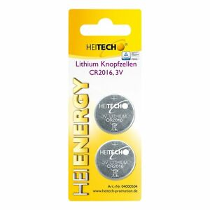 Heitech-Lithium-Knopfzellen-2-er-Pack-CR2032-210-mAh-3-V-Set-Batterien