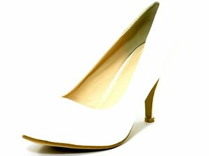 Damen-frauen Pump Mit Mittelhohem Absatz Schuhe/Office/Förmliche Schuhe weiß UK