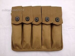 WWII-Military-US-Amry-Thompson-Magazine-Pouch-5-Cell-30-Rounds-US052