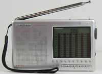 Kaito Ka1103 Portable Am Fm Sw Ssb Shortwave Radio Silver