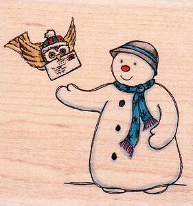 Wood Mounted Rubber Stamp Lindsay Mason Designs PEEK A BOO KITTY