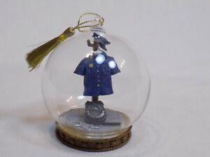 Policeman-Uniform-Policewoman-Blue-Hat-Cuffs-Bat-Holiday-Christmas-Ball-Ornament