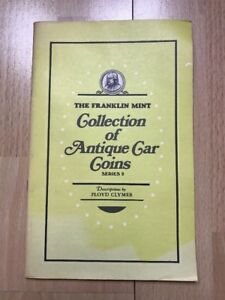 The-Franklin-Mint-Collection-Of-Antique-Car-Coins-Series-2-Book-By-Floyd-Clymer