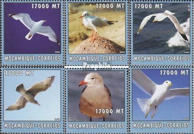 United Mozambique 2662-2667 Unmounted Mint Africa Topical Stamps Never Hinged 2002 World Of Marine