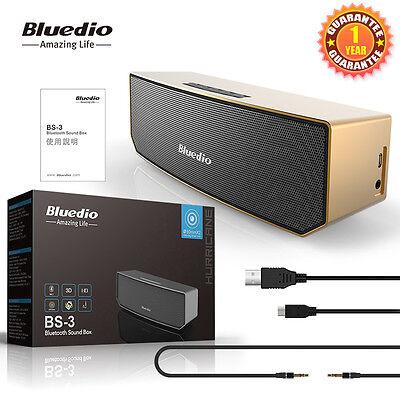 Bluedio BS-3 Bluetooth4.1 Wireless Speaker 3D Stereo Soundbar for Smart Phone