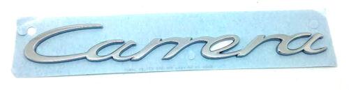 New Genuine Porsche 991 Carrera Script Chrome Badge 99155923701