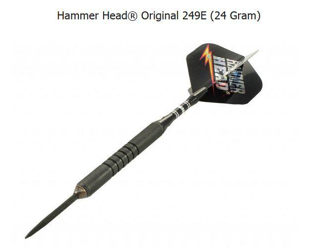 BOTTELSEN HAMMER HEAD 249E Edge Grip Dart Set 90% Tungsten Moveable Point