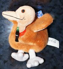 COCA COLA NEW ZEALAND FLAG PLUSH Stuffed Animal COKE Bottle Kelp Bird Doll Soda