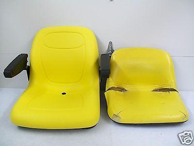 YELLOW SEAT JOHN DEERE F510,240,245,260,265,285,320,325,335,345,425,AM123666 #GU