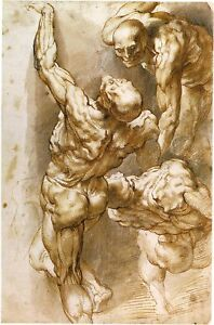 Peter-Paul-Rubens-Drawings-4-Ecorche-Nude-Males-Fine-Art-Prints