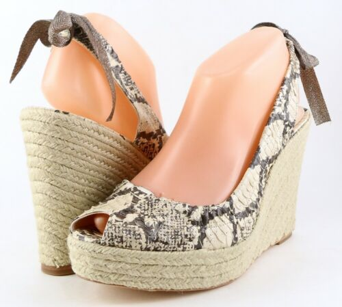 Espadrille de Coach Design Multi Serpent Naturel Maritza AR5jL4