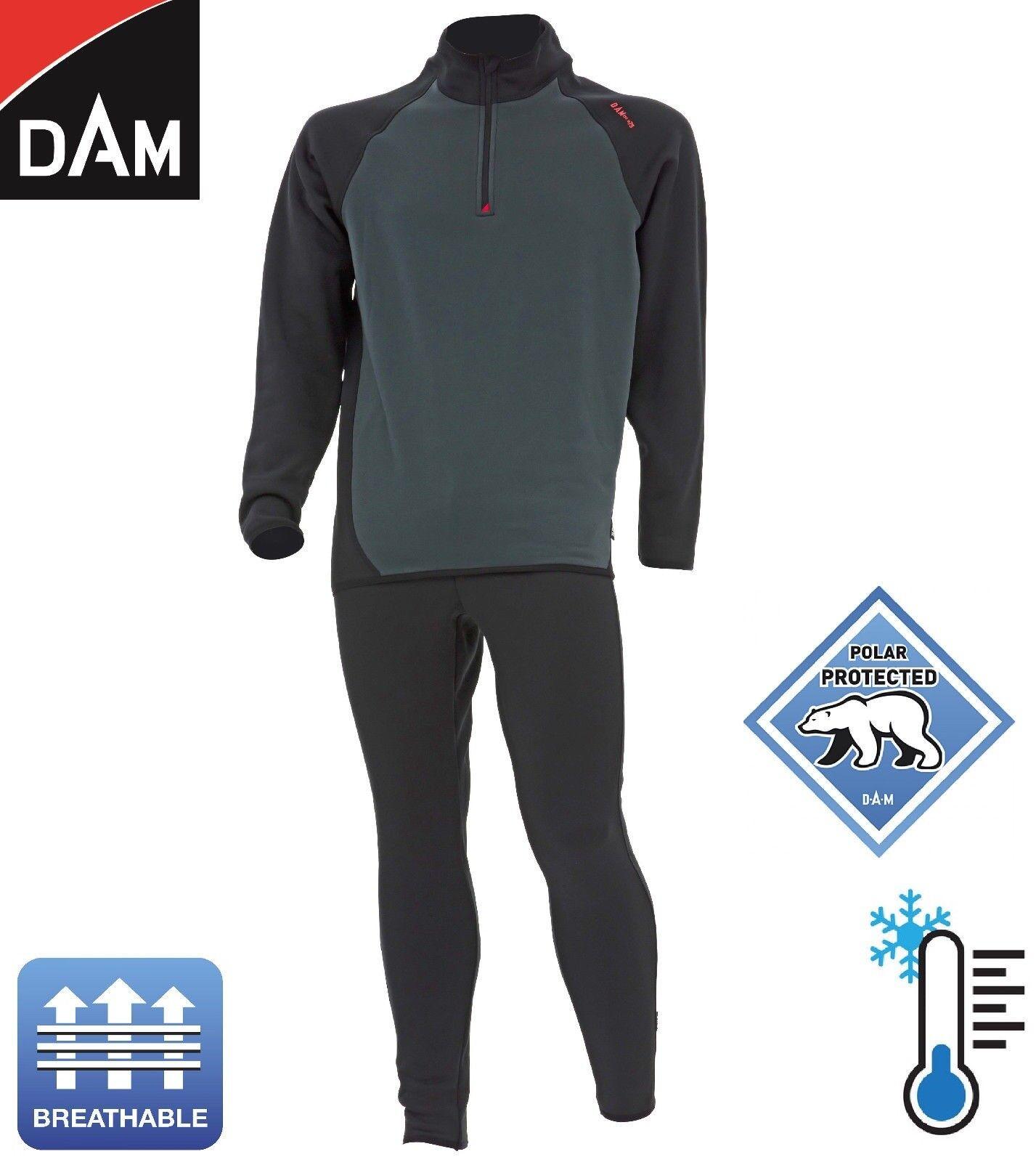 DAM X-pedition Thermo Fleece Unterwäsche - Winter Anzug   Thermoanzug Outdoor
