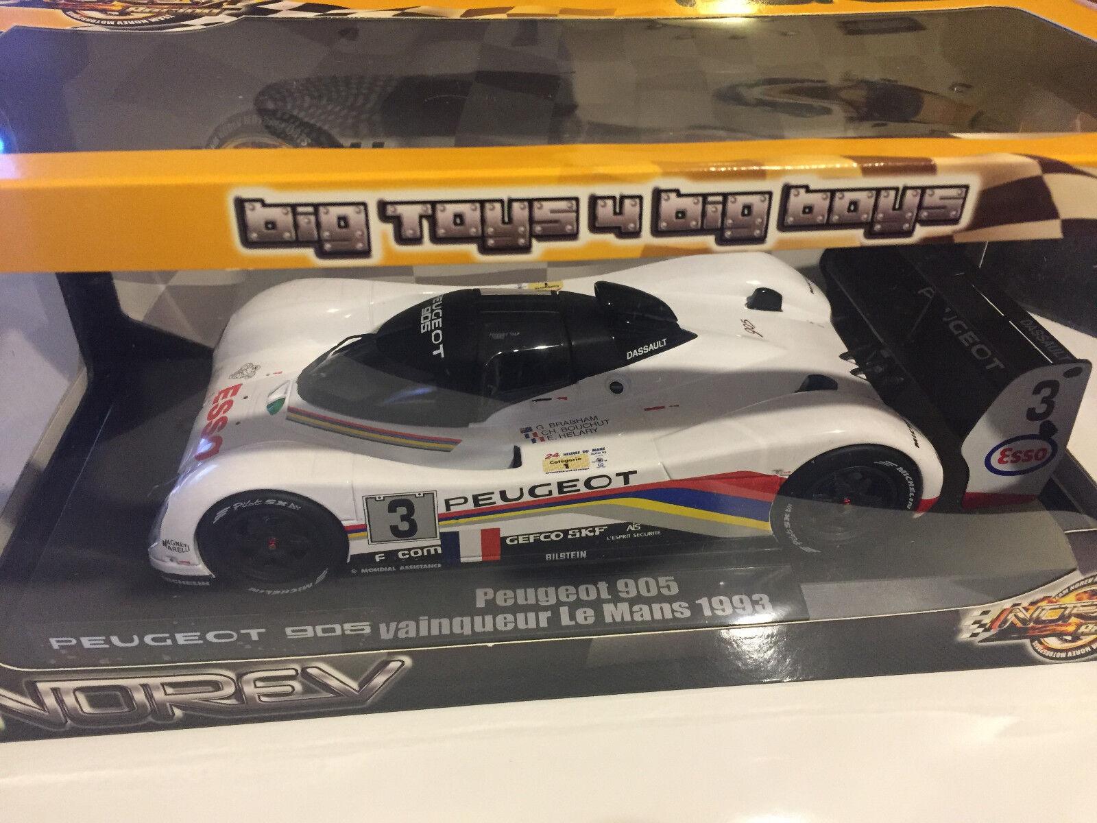 autorizzazione Peugeot 905 Winner Winner Winner Le uomos 1993 Norev 1 18  sconto