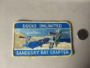 RARE-Vintage-Ducks-Unlimited-Sandusky-Bay-Chapter-Patch