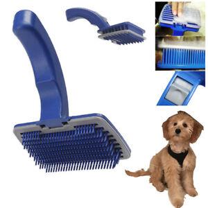 Pet-Dog-Cat-Grooming-Self-Cleaning-Slicker-Brush-Comb-Shedding-Tool-Hair-Fur
