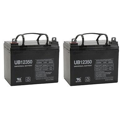 UPG 2 Pack - 12V 35Ah AGM Sealed Lead Acid Battery UB12350 Group U1