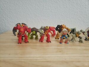 "Lot of 13 Gormiti Giochi Preziosi 2"" Action Figures Monsters"