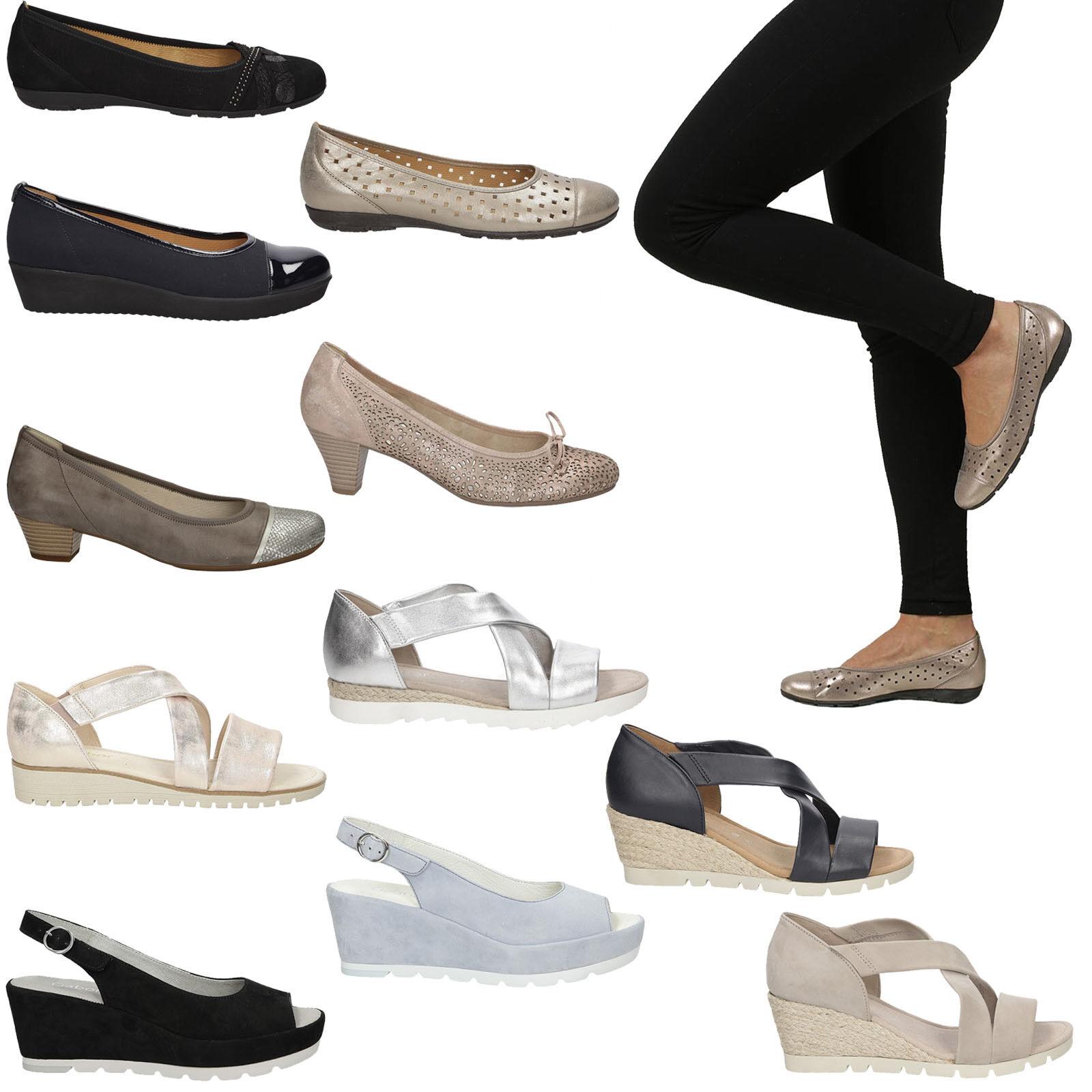 Gabor Ballerinas Sandaletten Sommer Freizeit Gr. Bequem Party Jugend Leder Gr. Freizeit 36-41 2b0511