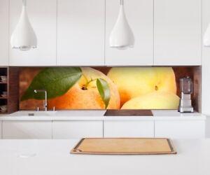 Autocollant Crédence de Cuisine Abricot Fruits Cuisine\'Couvercle   eBay