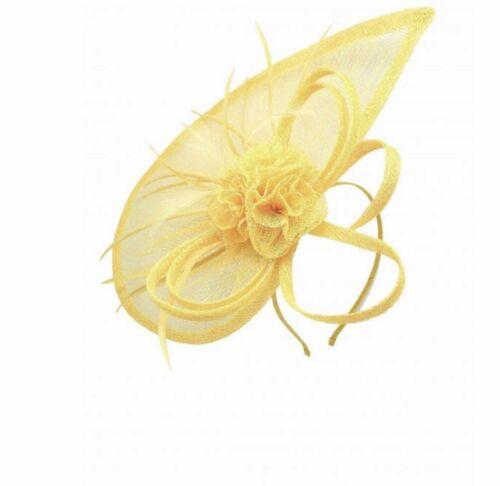 Élégant serre-tête fascinator hat aliceband mariage//race royal ascot//femme jour