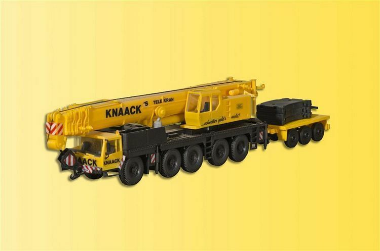 Kibri 13002 Liebherr Ltm 1160 2 with Counterweight Trailer, Kit, H0