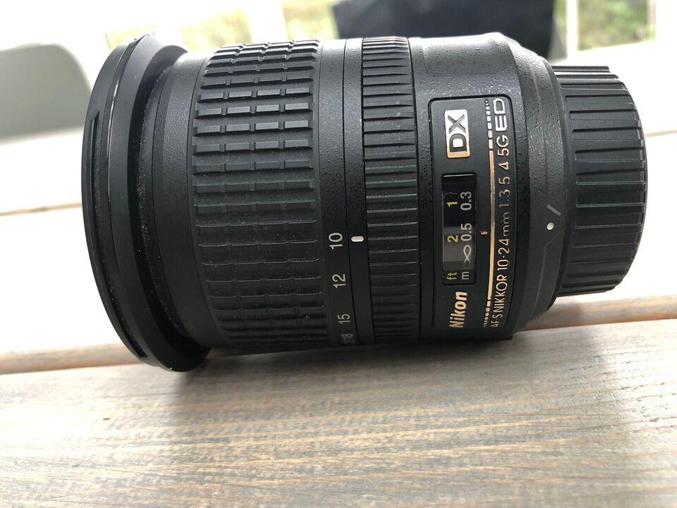 Nikkor 10 - 24mm 1 / 3.5 - 4.5G ED DX