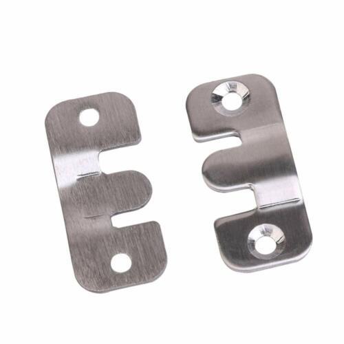 Flush Mount Bracket Wall Mount Interlocking Z Clip Hook Hardware,