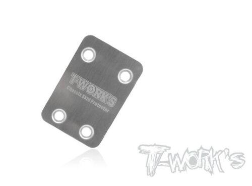1 To-220-k T-Works Skid Platte Hinten Stahl für Kyosho Mp9 Mp10