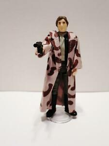 1984 Star Wars Vintage Complete Han Solo Trench Coat Figure