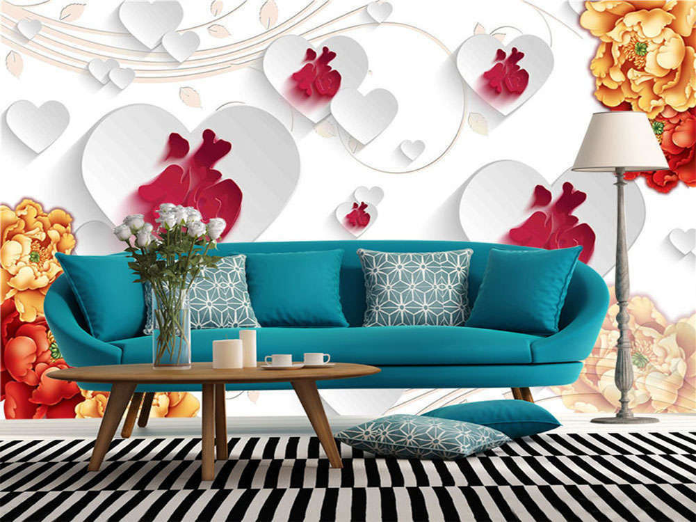 Bright ROT Blessings 3D Full Wall Mural Photo Wallpaper Printing Home Kids Deco