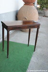 Tavolino Da Gioco Antico.Dettagli Su Antico Tavolo Da Gioco Tavolino Primi 900 Consolle Francese L Cm 80 H 75