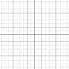 4 x papel de rejilla/Gráfico A1 tamaño métrico 1mm 5mm 50mm cuadrados sobre papel premium