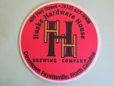 Beer COASTER ~*~ DOUBLE BARLEY Brewing Steakcake Imperial Stout ~ North CAROLINA